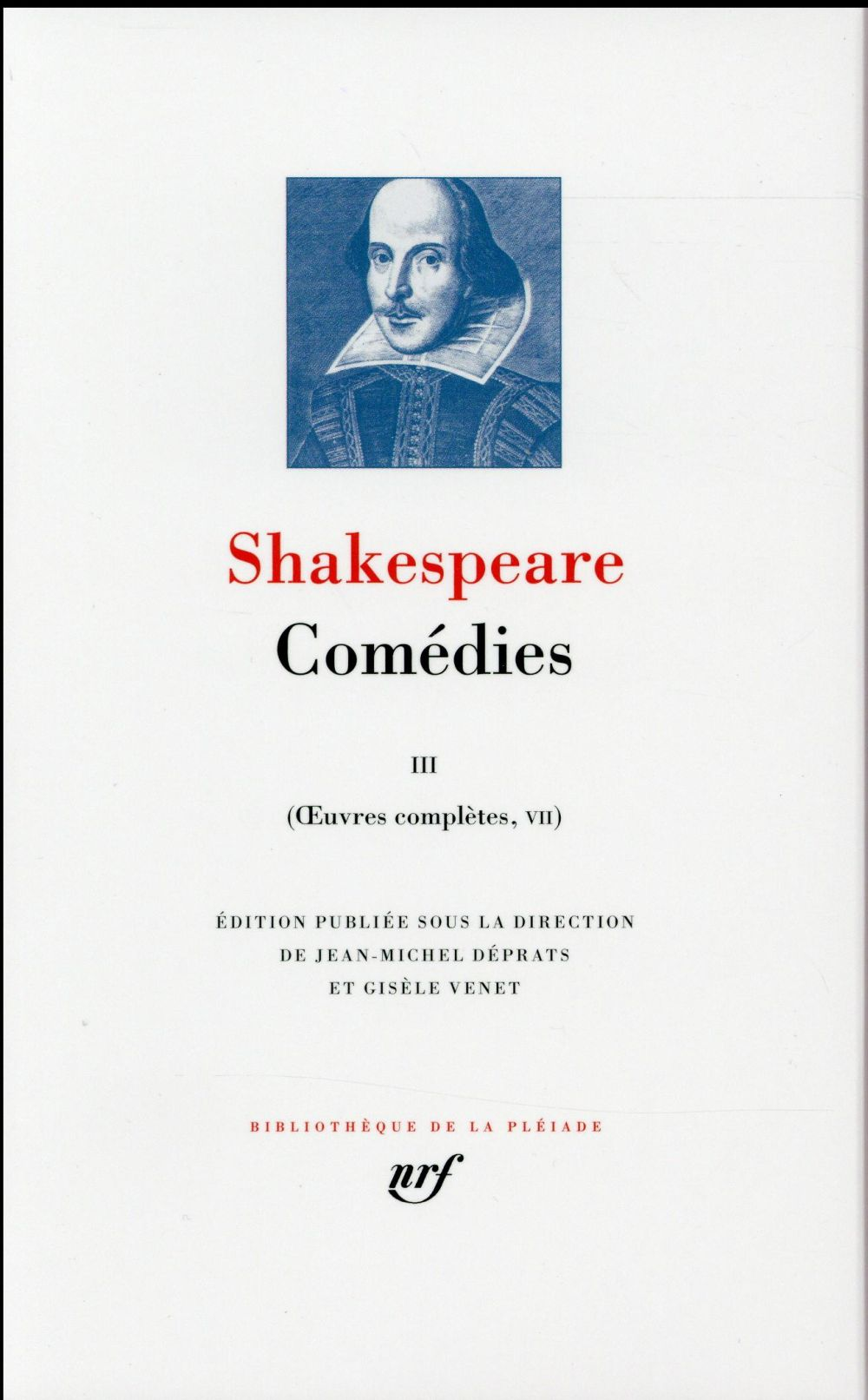 OEUVRES COMPLETES, V-VII : COMEDIES (TOME 3)